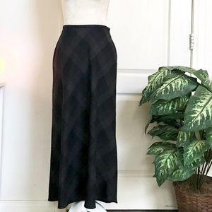 Liz Claiborne Long Wool Skirt /Petite